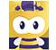 吉祥物小蜜蜂